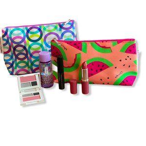 Clinique Makeup Bag 6pc Set Bundle NEW!
